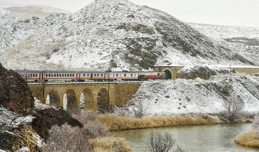 Tehran Ankara Train